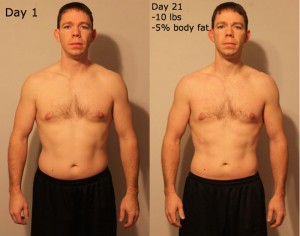 21 day fix male results